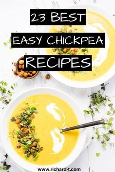 23 Easy and healthy chickpea recipes you need to make! #chickpeafoodrecipes #chickpearecipes Chickpea Recipes Easy, Easy Healthy Recipes, Vegetarian Recipes, Honey Roasted Chickpeas, Vegetarian Lifestyle, Vegan Kitchen, Easy Food To Make, Food Hacks, Food Inspiration