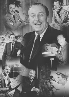 Through the years of Walt Disney