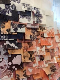 Paper wall.....