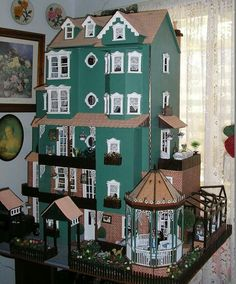 Miniature Rooms, Miniature Houses, Dollhouse Dolls, Dollhouse Miniatures, Antique Dolls, Vintage Dolls, Dollhouse Furniture, Dollhouse Interiors, Dream Doll