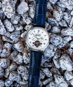 Carl von Zeyten CVZ0053WH - Zegarek Bonndorf Automatic • Zegarownia.pl Watches, Accessories, Wristwatches, Clock, Ornament