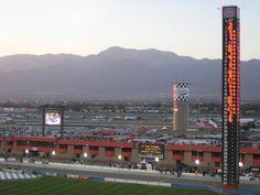 Auto Club Speedway in Fontana, CA
