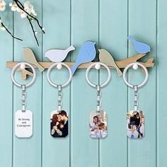 Brand: UP to Off! Personalized Photo Keychain Free Engraving Dog Tag Custom Photograph Memorial Jewelry