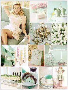 delicious pistachio cream inspiration board by @camillestyles!