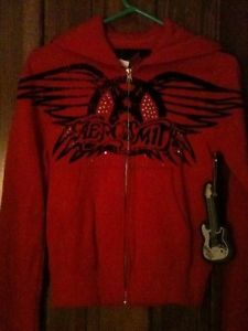 Aerosmith-Hoodie-Sweat-Jacket-Small-NWT