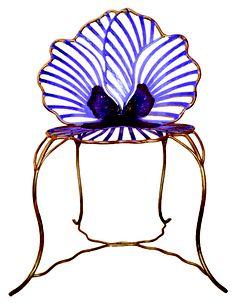 Pansy Chair by Joy de Rohan Chabot