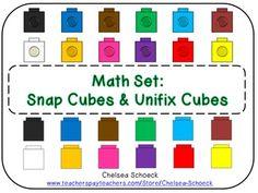 14 besten Unifix cubes Bilder auf Pinterest in 2018 | Kindergarten ...