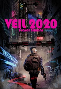 Veil 2020: Minimalist Cyberpunk Action Roleplaying (Digital PDF Book)