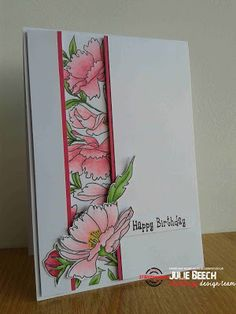 Card by Julie using Dee's Artsy Impressions - Blooming Buds