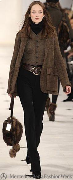 Ralph Lauren - Fall 2010 - Mercedes Benz Fashion Week