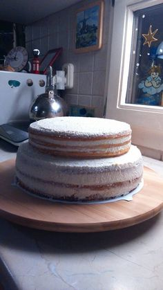Túró torta még csupaszon
