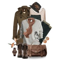 """Burberry Goes to the Birds"" by leegal57 on Polyvore"