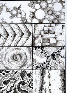 Punto (diagnóstico) Consigna: realizar un dibujo libre, ya sea abstracto o figurativo, utilizando la paleta de colores a elección (acromáticos y cromáticos), utilizando según lo visto en clase, las diferentes calidades de puntos. Nos tenemos que centrar en los tipos de puntos, y no en la cantidad. Se debe trabajar tanto la figura como el fondo. No pueden aparecer lineas y/o comas, ya que solo se trabaja  E L  P U N T O.