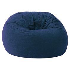 Comfort Research Memory Foam Filled Bean Bag Chair