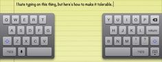 6 Tips to Improve Typing on the iPad