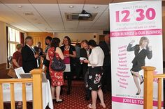 Bromley Business Expo 2013 Speednetworking with @1230Jackie 1230TWC - nice one Warren!