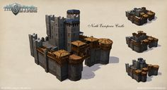 North European Castle by ~Dawn2069MS on deviantART