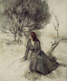 Arthur Rackham, ilustrador inglés.