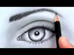 Today's Drawing class 101: The face and head | How to Draw a Realistic Eye (Without Time Lapse)