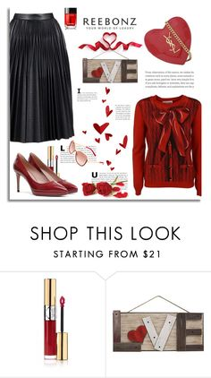 """""""Valentine's Day Look"""" by reebonz ❤ liked on Polyvore featuring Yves Saint Laurent, WALL and Chanel"""