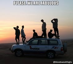 #bts #bangtan #bangtanboys #btsmemes #bangtanmemes #namjoon #rapmon #rapmonster #jhope #hobi #hoseok #jin #seokjin #jimin #chimchim #jungkook #kookie #suga #yoongi #v #tae #taetae #taehyung #silhouette #sunset #shadows #car #models #fabulous