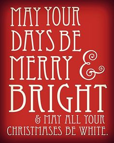 Merry & Bright Free Christmas Filler Card Printable for project life