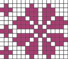 marianna's lazy daisy days: 'Fair Isle' Flower Baby Hat - Knitting Charts Tapestry Crochet Patterns, Fair Isle Knitting Patterns, Knitting Charts, Knitting Stitches, Punto Fair Isle, Fair Isle Chart, Flower Chart, Crochet Chart, Hat Crochet