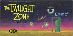 The Twilight Zone Board Game.  This was a lot of fun, but it had nothing to do the with television show except for the items in the opening montage.