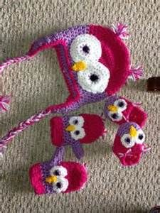 girls owl face crochet mitten pattern - Yahoo Search Results Yahoo Image Search Results