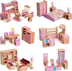 dollhouse furnitures and accessories