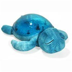 Les veilleuses Tranquil Turtle - Veilleuse tortue projection effet sous mère bleu bleu