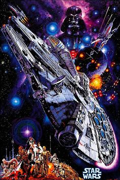 As a family of Star Wars Fans these Star Wars Puzzles 1000 Pieces are awesome fun! Star Wars jigsaw puzzles are great for kids and adults.You want to check out this fantastic selection of Star Wars Puzzles and see what is NEW! Star Wars Episódio Iv, Nave Star Wars, Star Wars Games, Star Wars Art, Star Trek, Godzilla, Poster Art, Poster Design, Poster Ideas