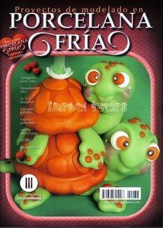 Como hacer tortugas en porcelana fria