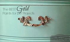The Best Gold Paints for DIY Projects