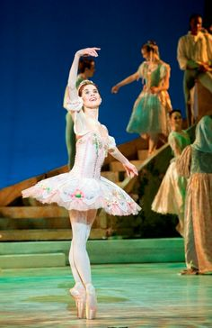 Prima Ballerina Burnise Silvius -Sleeping-Beauty-