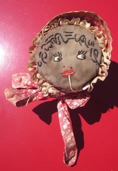 Vintage Mammy String Holder