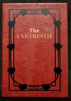 "The Labyrinth Sarah's Book Replica iPad / Tablet / eReader / CoverGeekify Inc ""Through dangers untold and hardships unnumbered..."""