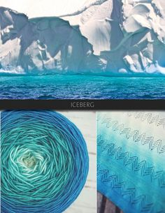 Iceberg gradient yarn