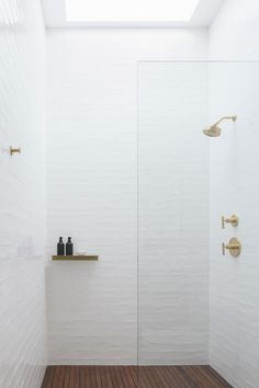 Minimalist Urban Residence Modern Home in Santa Barbara, California on Dwell Wood Bathroom, Bathroom Renos, Modern Bathroom, Small Bathroom, Industrial Bathroom, Modern Recessed Lighting, Bathroom Recessed Lighting, Decoration Inspiration, Bathroom Inspiration
