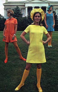 Mary Quant - Robes Mini - J.C. Penney - 1968