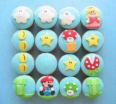 Mario cart cupcakes