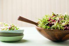 Frisee, Raddicchio, Fennel Salad with Mustard Vinaigrette