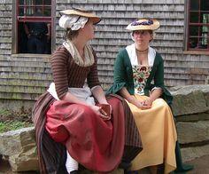 Reenactors at Old Sturbridge Village by leewrightonflickr, via Flickr