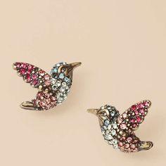 Hummingbird Studs