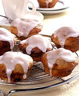 Frosted Banana Bread Muffins