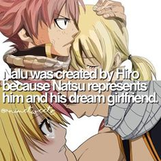 Anine: Fairy Tail Characters: Natsu Dragneel and Lucy Heartfilia °Nalu❤°