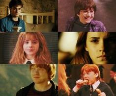 Harry, Ron and Hermione | Harry Potter