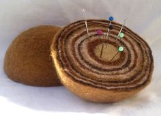 Felted pin cushion