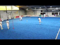 First Touch like Xavi and Iniesta (FC Barcelona TIKITAKA Drill) - YouTube