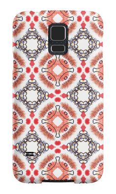 """""""Pattern """"Abstract ethnics"""" """" Samsung Galaxy Cases & Skins by floraaplus 